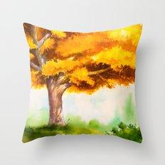 Autumn scenery #15 Throw Pillow