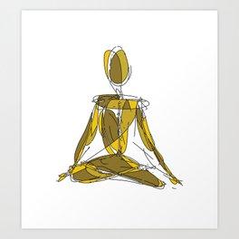 Yôgin Art Print