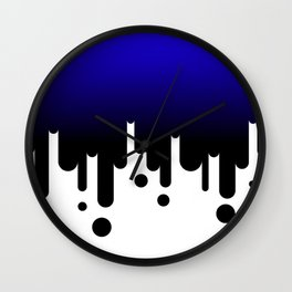 Ultramarine Wall Clock