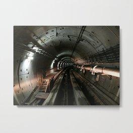 Dystopic // Guangzhou APM Subway Metal Print