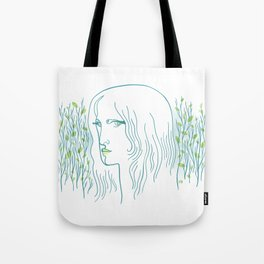 Woods Woman 1 Tote Bag