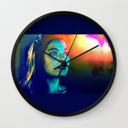 Moment of the Aftermath Wall Clock
