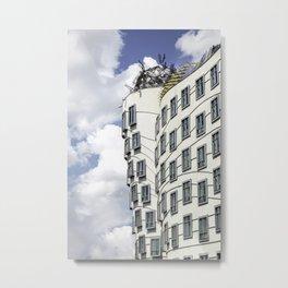 The Dancing House Metal Print