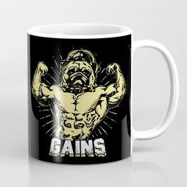 Gains Pug Coffee Mug