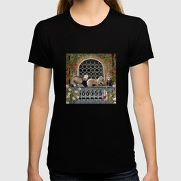 Ferrets Out on the Balcony T-shirt