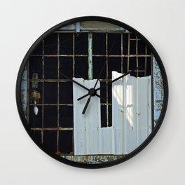 Warehouse Window Wall Clock