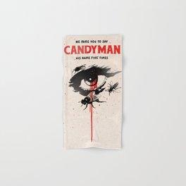 Candyman cover film Hand & Bath Towel