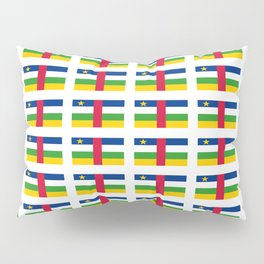 Flag of Central African Republic,car, Bêafrîka,centrafrique,Central African, centrafricain,Oubangui- Pillow Sham