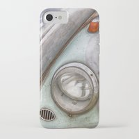 vw iPhone & iPod Cases featuring VW Beetle by David Turner