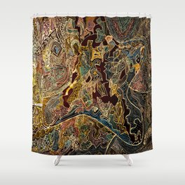 A Country Somewhere. Shower Curtain
