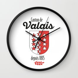 Canton of Vais Wall Clock