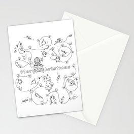 ANDREIASTORY: MERRY CHRISTMAS Stationery Cards