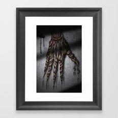 Hold your breath! Framed Art Print