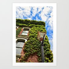 Up, up, and away. Art Print