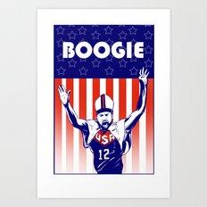 Pope Boogie Cousins USA Art Print