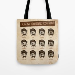 Ron Swanson 5 Tote Bag