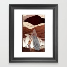 The Inventors Contract Framed Art Print