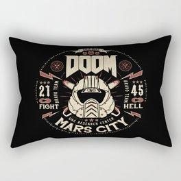 Doom - Fight Hell Rectangular Pillow