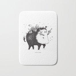 wild boar Bath Mat