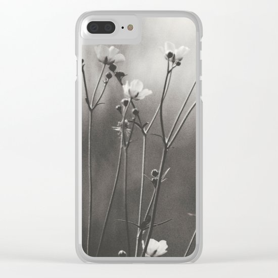 Blurry dreams Clear iPhone Case