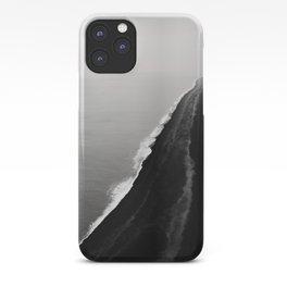 Black Sand Beach, Iceland iPhone Case