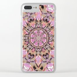Abstract Flower AA YY QQQQQ Clear iPhone Case