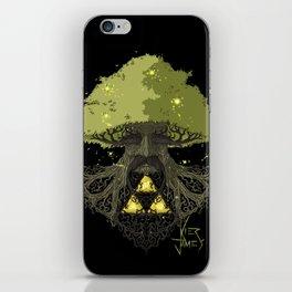 Deku Tree Full Colour iPhone Skin