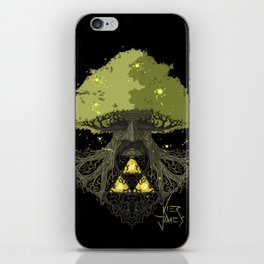 Deku Tree Full Colour iPhone Skin