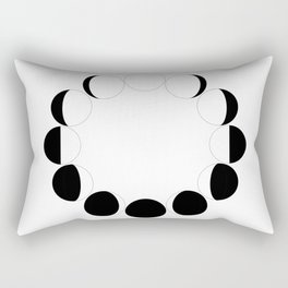 LUNAR PHASES Rectangular Pillow