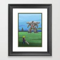 Pixel Art series 13 : The big Framed Art Print