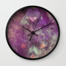 Magical Bohemian Wall Clock