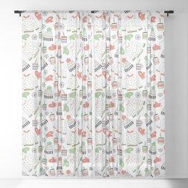 Warm Winter Wear Sheer Curtain
