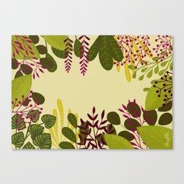Belle plante Canvas Print