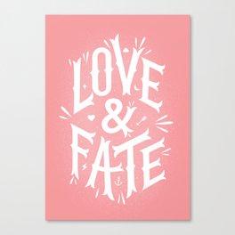 Love & Fate Canvas Print