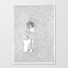wash your hands and repeat. Canvas Print