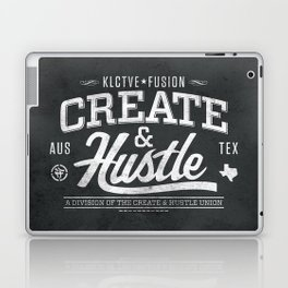 KLCTVEfusion Create and Hustle Laptop & iPad Skin
