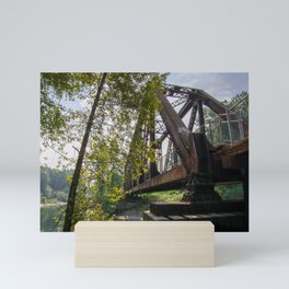 Reinig Bridge - Snoqualmie, WA Mini Art Print
