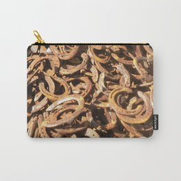good luck - horseshoes Carry-All Pouch