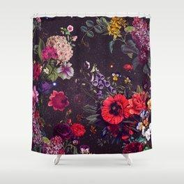 Astro Garden Shower Curtain