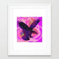 eagle Framed Art Prints featuring eagle by giancarlo lunardon