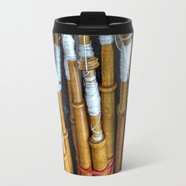 Bolillos or Lace Spindles Travel Mug