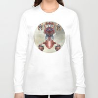 kaiju Long Sleeve T-shirts featuring Kaiju by DIVIDUS