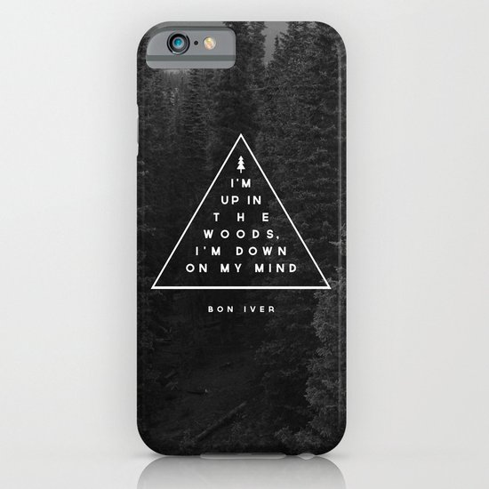 Woods -- Bon Iver iPhone & iPod Case