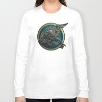 pacific rim Long Sleeve T-shirts featuring Knifehead - Pacific Rim by Leamartes