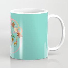 Cookies and Cream, Biscuits and Tea. Coffee Mug