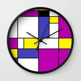 Neoplasticism Wall Clock