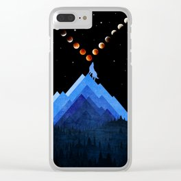 Moon Changer Clear iPhone Case
