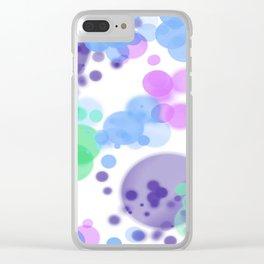 Bubbles, Bubbles Clear iPhone Case