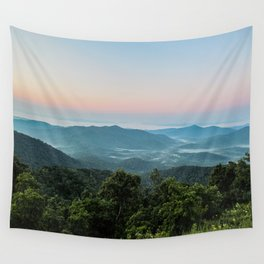 The Morning Mists Wall Tapestry