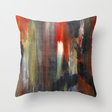 Crude Oil Chart  Throw Pillow